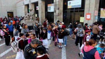Suman casi 100 mil escuelas con clases en 10 estados tras sismos: SEP