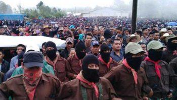 'Marichuy' finaliza gira en los Caracoles del EZLN
