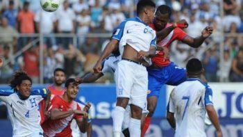 Costa Rica vs Honduras reprogramado por tormenta 'Nate'