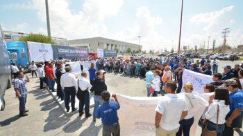 Casi 90 toneladas de ayuda de ciudadanos reynosenses para Morelos y Oaxaca