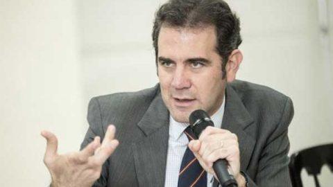Críticas al INE son estrategias de campaña: Córdova