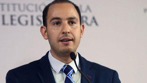 'Soy un panista hecho en casa', afirma Marko Cortés