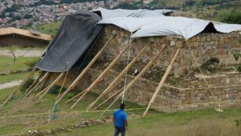 Dos pirámides de Monte Albán II sufrieron daños por sismo: INAH