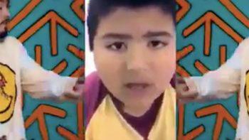 Niño que tragó un silbato se convierte en la sensación de las redes