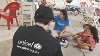 En riesgo de desnutrición, niños afectados por sismo: Unicef