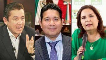 Buscan tres la dirigencia nacional del Partido Verde