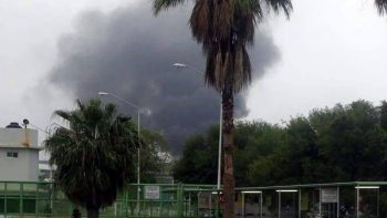 Sigue manifestación de internos del penal de Cadereyta; se reporta incendio