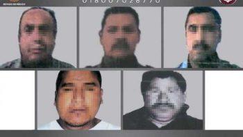 Ex policías del Edomex son sentenciados a mil años de prisión