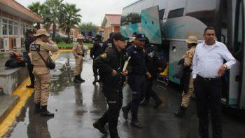 Policías de NL concluyen labores de apoyo a afectados por sismo