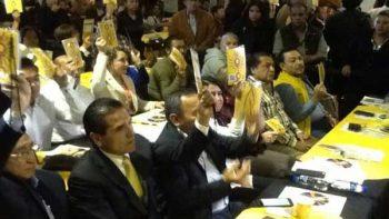 Consejo Electivo, método para elegir candidaturas: PRD