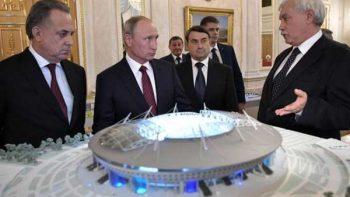 Putin considera 'inaceptable' los retrasos en sedes mundialistas