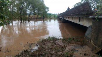 """'Ramón"""" provoca desbordamiento de 2 ríos en Oaxaca"""