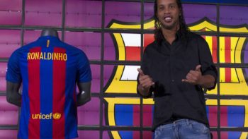 Ronaldinho revela sobre su salida del Barcelona