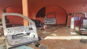 Aseguran taller de blindaje en Reynosa