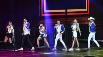 Timbiriche graba en Monterrey su DVD 'Juntos' al lado de Miguel Bosé