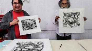 Toledo crea grabados para apoyar a damnificados del Istmo