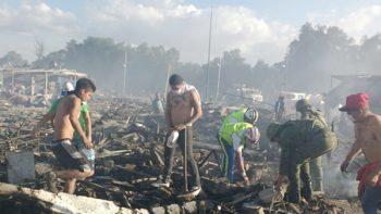 Fuerte explosión termina con la vida de artesano en Tultepec