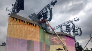 Alistan escenario de U2 para shows en Foro Sol