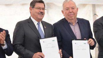 Firman convenio ICET y la UANL