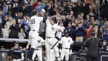 Yankees de Nueva York avanza y enfrentará a Indians