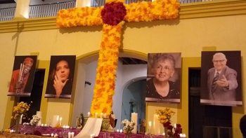 Dedican altar a cuatro personajes célebres de Monterrey