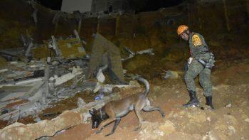 Sin cesar la búsqueda de doña Irma en derrumbe de Monterrey