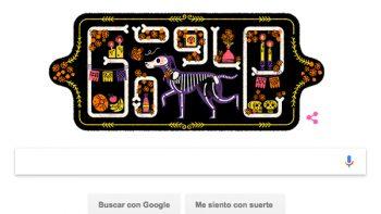 Google celebra el Día de Muertos