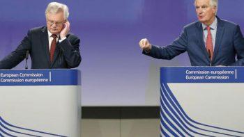 Reino Unido recibe ultimátum de Unión Europea para avanzar en Brexit