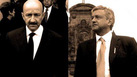 AMLO y Carlos Salinas, una rivalidad de dos décadas
