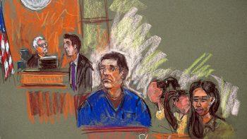 'El Chapo' es acompañado por sus 'mujeres de oro' durante su audiencia