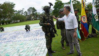 México, Colombia y EU unen fuerzas contra el narco
