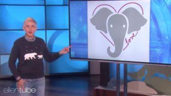 Ellen DeGeneres asegura que los elefantes son mejores personas que Trump