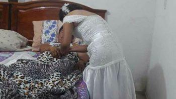 Festeja enfermera que interrumpió su boda por atender una emergencia