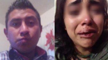 Servidor público da brutal golpiza a su ex mujer delante de su hijo