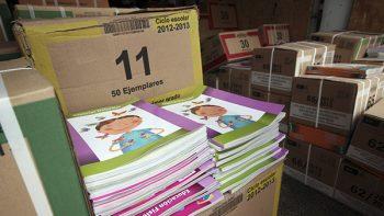 Concluye el reparto de 186 millones de libros de texto gratuito