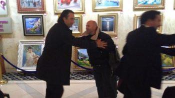 'Frío' encuentro entre Pizzi y Sampaoli en Moscú