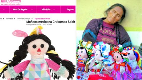 Liverpool vende muñecas María 'piratas'; están hechas en China