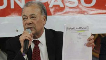 PRI denuncia ante Fepade al líder nacional del PT