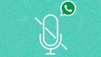 WhatsApp permitirá grabar audios sin pulsar el botón de micrófono