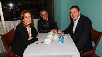 Juntos Margarita y Moreno Valle con Mancera, a quien apoyarían como candidato del Frente