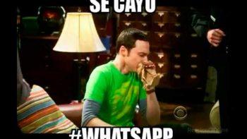 Con memes, usuarios se mofan de caída del WhatsApp