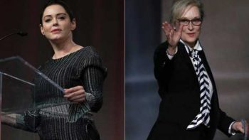 Rose McGowan se lanza contra Meryl Streep