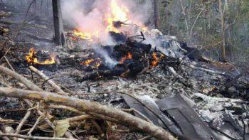Registran en video explosión de avioneta en Costa Rica