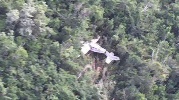 Ubican a ingleses de avioneta que se desplomó en Quintana Roo