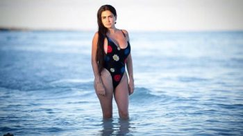 Celia Lora luce sus curvas; comparte fotos en Instagram