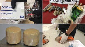 Peluches y dulces, objetos que usa el narco para llevar droga
