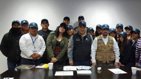 Capacita municipio a guardianes ambientales