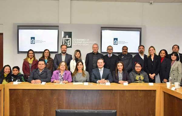 Guadalupe modelo nacional de derechos de niñas, niños y adolescentes