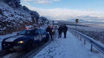 Cierran tramo carretero entre Sonora y Chihuahua por nevada