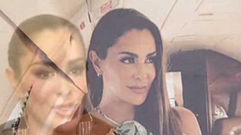 Ninel Conde viajó en avión donde murió Jenni Rivera